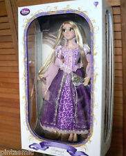 "TANGLED RAPUNZEL PURPLE GOWN DRESS 17"" DOLL LIMITED EDITION Disney Store LE NIB"