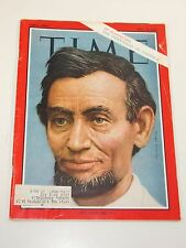 Magazine, Time- The Individual In America: Abraham Lincoln- May 10, 1963