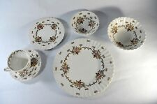 J & G MEAKIN CHATSWORTH STAFFORDSHIRE ENGLAND 6 PIECE PLACE SETTING ENGLAND