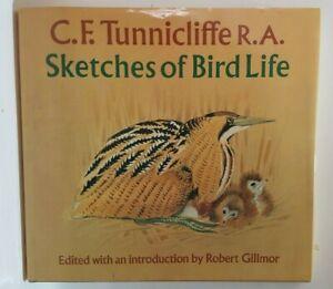 Sketches of Bird Life CF Tunnicliffe Robert Gillmor wildlife paintings art book