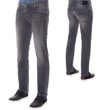 M.O.D Miracle of Denim Jeans SP18-1010 Herren Hose Regular Comfort Fit Used Grau