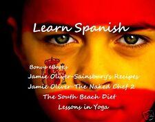 CD - LEARN SPANISH + Bonus Books