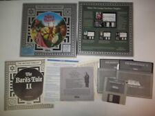 "The Bard's Tale II Destiny Knight IBM Tandy MS-DOS PC Game 5.25"" Floppy Big Box"