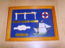 Nautical Sailor Rope Knots Hanging Picture