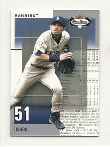 2003 Fleer Box Score Classic Miniatures - #15 - Ichiro - Seattle Mariners