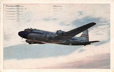 United Dc-6 Mainliner 1947 Crossing Usa in 9 1/2 hours Vintage Aircraft rl463