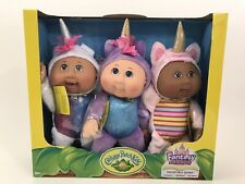 Cabbage Patch Kids Collectible Cuties Fantasy Friends Aria, Nila & Star Unicorns