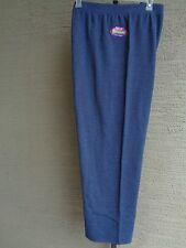 NWT  JUST MY SIZE COMFORT SOFT FLEECE LINED  SWEAT PANTS 3X HETH NAVY