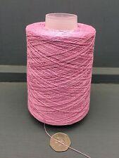 200g 2 / 30nm 100% fils de soie rose pâle