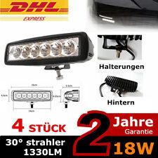 LED Rückfahrscheinwerfer am LKW SUV 4WD Offroad Licht 4x 18w Zusatzscheinwerfer