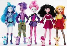 "Madame Alexander SpacePop Princess Hera Athena Juno Luna Rhea Set of 5 Dolls 11"""