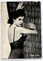 MILLY VITALE Pin up Sexy Cinema Star 1960 ITALY Real Photo PC Vera foto Attrice