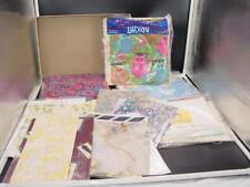 LOT VINTAGE GIFT WRAP WRAPPING PAPER 60's-70's Varied LOT 5+ Pounds