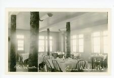 Hotel du Golfe RPPC Riviere Madeleine QUEBEC—Eglise Church GASPE Interior Photo
