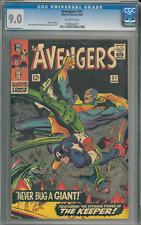 Avengers #31 CGC 9.0 off-white pages