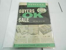 #MISC-3079 VINTAGE CATALOG - 1958 SPIEGEL DEPARTMENT STORE catalog