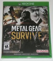 Metal Gear Survive (Microsoft Xbox One, 2018) NEW requires internet