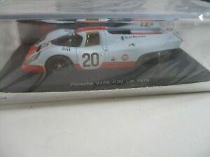 Spark S1969 1/43 Porsche 917K John Wyer racing #20 Le Mans 1970 Siffert / Redman