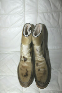 *Seehund-Stiefel,Pelzstiefel,Boots, Echt Seehundfell,Fellstiefel,Gr.38,5,TOP*