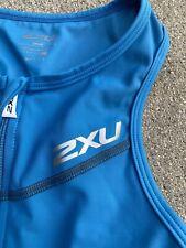 New 2XU Men Compression Trisuit Race Train Triathlon Tri Suit Small
