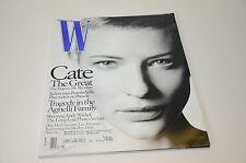 2001 W Magazine Kate Blanchett Cover Fashion Perfume Fur Watch Moss Ad Ads