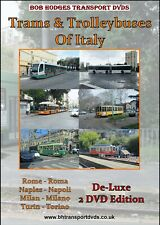More details for trams & trolleybuses of italy, 2 dvd set, featuring rome, naples, milan & turin