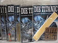 Modellbau Die Titanic Bausatz Hachette 5 Hefte aussuchen aus Liste bis Nr. 79