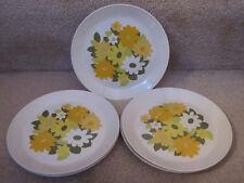 Vintage Johnson Bros Kerrydale Snowhite 5 Salad Dessert Plates EUC
