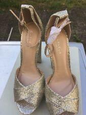Gold Shoes  Size 7  40 High Heel Kurt GeigerSi Carvela