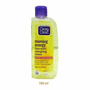 Clean & Clear Face Wash With Bursting Beads Morning Energy - Choose Pack