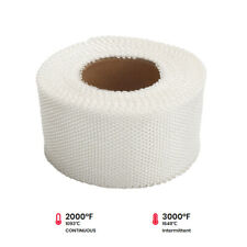 "White Exhaust Pipe Insulation Thermal Heat Wrap 2"" x 50ft Motorcycle Header"