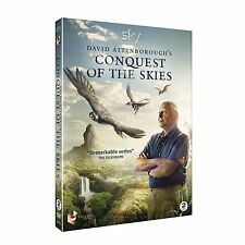 David Attenborough's Conquest of the Skies 2x DVD NEU Fliegende Tiere BBC Earth