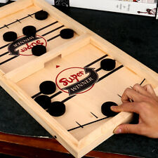 Fast Sling Puck Game Paced SlingPuck Toys Family Games Juego Child Winner Board
