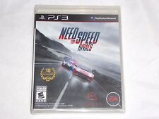 NEW Need for Speed Rivals Playstation 3 Game SEALED PS3 NFS rival race car NTSC