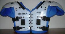 American Football Shoulderpad Condor II,  Gr. XXXXL, OL, DL, LB, FB, Neu