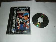 Street Fighter La Película Sega Saturn En Caja Completos Con Caja Y Manual