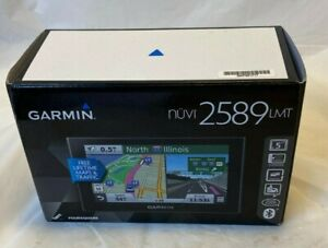 Garmin Nuvi 2589 LMT GPS Navigator Lifetime map BOX ONLY complete your item Sell