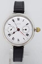 Reloj de Pulsera Plata Ladysmith Cronógrafo Hecho en Suiza Wind Up 1913 Circa 1933