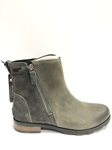 Sorel Women's Emelie, Quarry Zip-Up Ankle Booties, Size 11M.