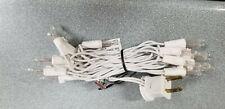 Bethlehem Clear Craft Christmas Mini Lights 20 Light Strings-White Cord