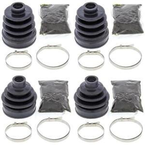 Complete Rear Inner & Outer CV Boot Repair Kit for Honda TRX700XX 2008-2009