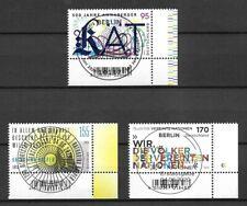 Bund Mi.Nr. 3547-3549 (2020) gestempelt mit ESST (Berlin)/Neuausgaben Juni