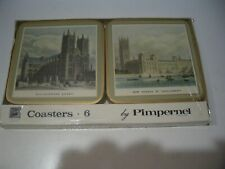 New listing Pimpernel Coaster Set Of 6 Coasters 19th Century London - New Not Open Box