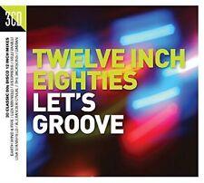 Twelve Inch Eighties: Let's Groove by Various Artists (CD, Jun-2016, 3 Discs, Crimson)