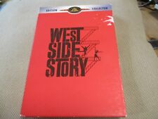 """COFFRET COLLECTOR 2 DVD """"WEST SIDE STORY"""" Natalie WOOD / Robert WISE"""