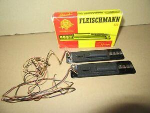 37Q Fleischmann Référence 522 Allemagne 2 Relais de Protection + Boite Ho
