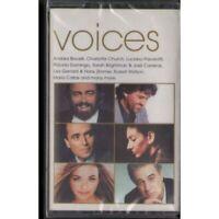 AA.VV Bocelli Church Pavarotti MC7 Voices Nuova Sigillata 0731458301745