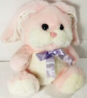 Vintage Cuddle Wit Pink Bunny RabbitPlush Stuffed Animal Toy Easter Rare Gift