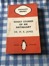 Vintage Penguin Ghost Stories of An Antiquary by M.R. James 1st Ed 1937 Reprint