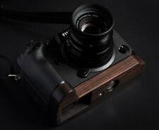 Handmade Natural Blackwood Wooden Base Plate Hand Grip for Fujifilm X-H1 Camera